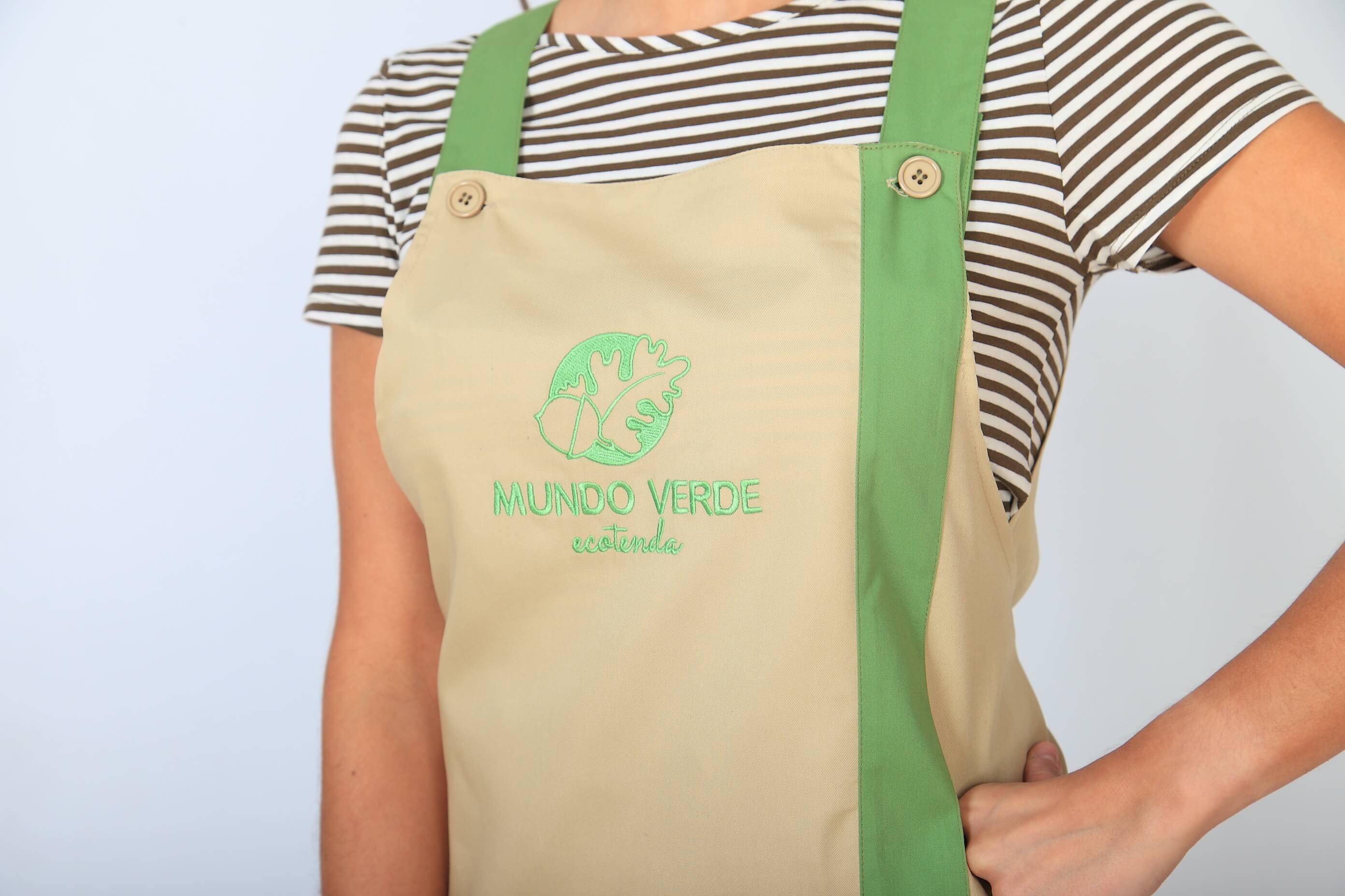 Detalle uniforme para Mundo Verde de Bien Bonito