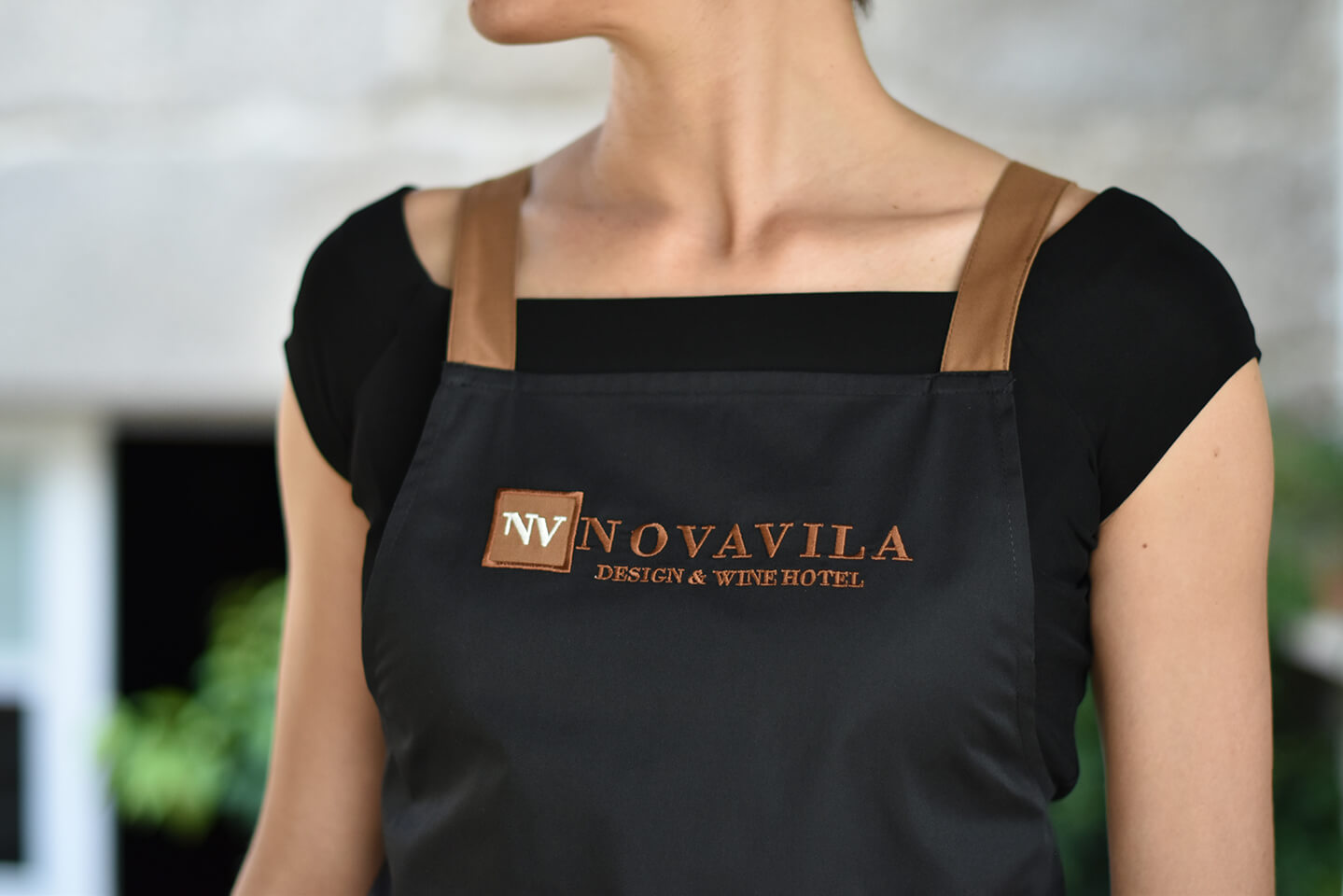 Detalle delantal Novavila