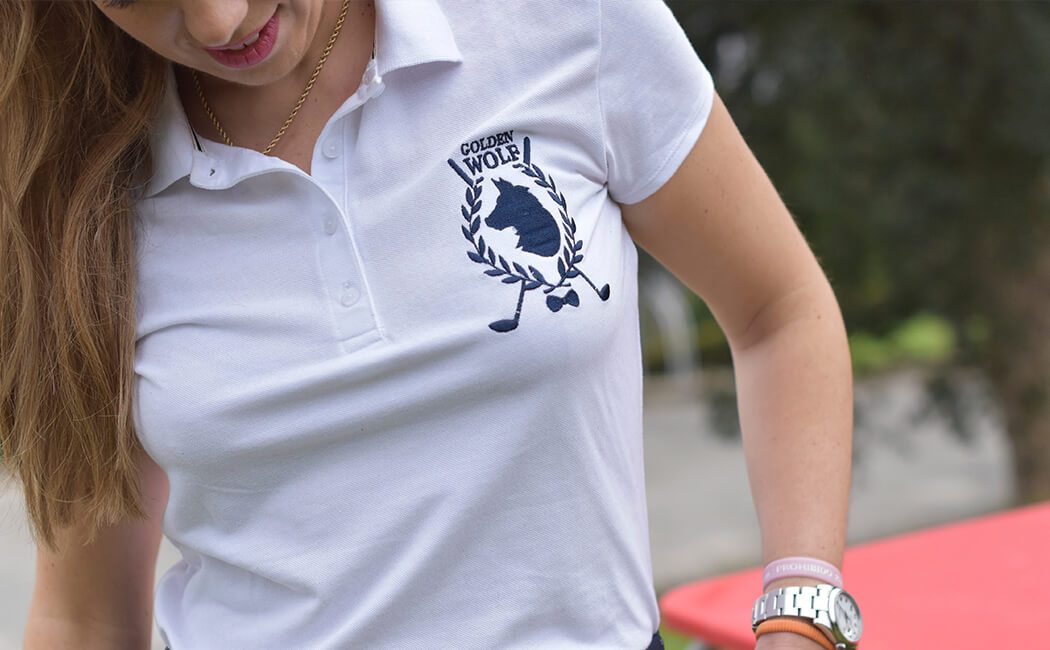 Detalle Camiseta Golden Golf De Bien Bonito